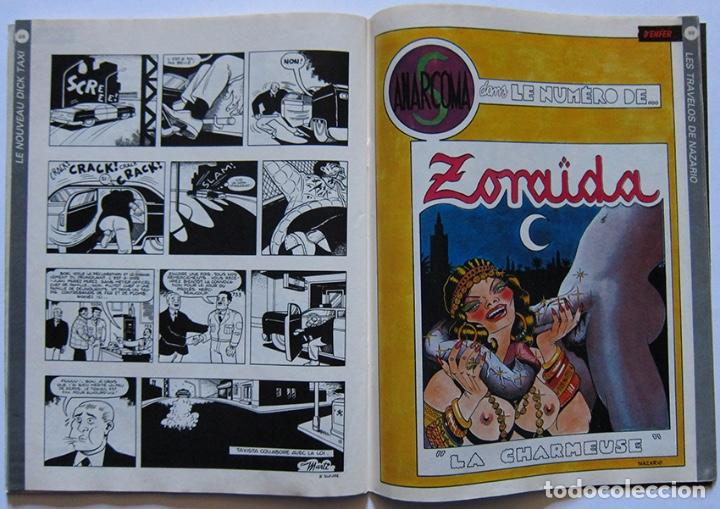 Cómics: Zoulou nº 1. Ceesepe, Margerin, Jano, Denis Sire, Charles Burns, Martí, Nazario… Francia 1984 - Foto 7 - 194276178