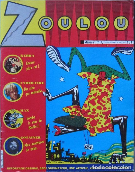 ZOULOU Nº 1. CEESEPE, MARGERIN, JANO, DENIS SIRE, CHARLES BURNS, MARTÍ, NAZARIO… FRANCIA 1984 (Tebeos y Comics - Comics Lengua Extranjera - Comics Europeos)