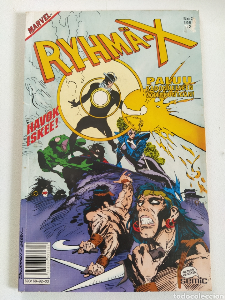 RYHMÄ-X Nº 3 (VERSIÓN FINLANDESA DE X-MEN) - SEMIC (Tebeos y Comics - Comics Lengua Extranjera - Comics Europeos)