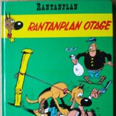 Cómics: RANTANPLAN OTAGE (LUCKY PRODUCTIONS, 1992), POR MORRIS, JANVIER, FAUCHE Y LÉTURGIE.. Lote 194365073