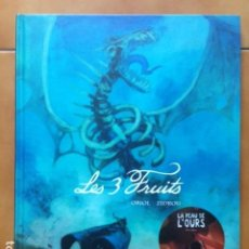 Cómics: BD LES 3 FRUITS / ZIDROU ET ORIOL - DARGAUD ( EN FRANCES ). Lote 194513986