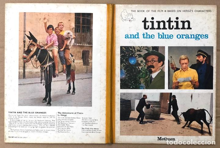 TINTIN AND THE BLUE ORANGES. FROM THE SCREENPLAY BY ANDRÉ BARRET. 1967 (Tebeos y Comics - Comics Lengua Extranjera - Comics Europeos)