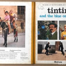 Cómics: TINTIN AND THE BLUE ORANGES. FROM THE SCREENPLAY BY ANDRÉ BARRET. 1967. Lote 194553122