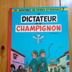 Cómics: LES AVENTURES DE SPIROU ET FANTASIO 7: LE DICTATEUR ET LE CHAMPIGNON - 1977 - MUUUUY BUEN ESTADO. Lote 194603183