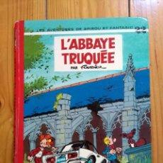 Cómics: LES AVENTURES DE SPIROU ET FANTASIO 22: L'ABBAYE TRUQUÉE - 1974. Lote 194603890