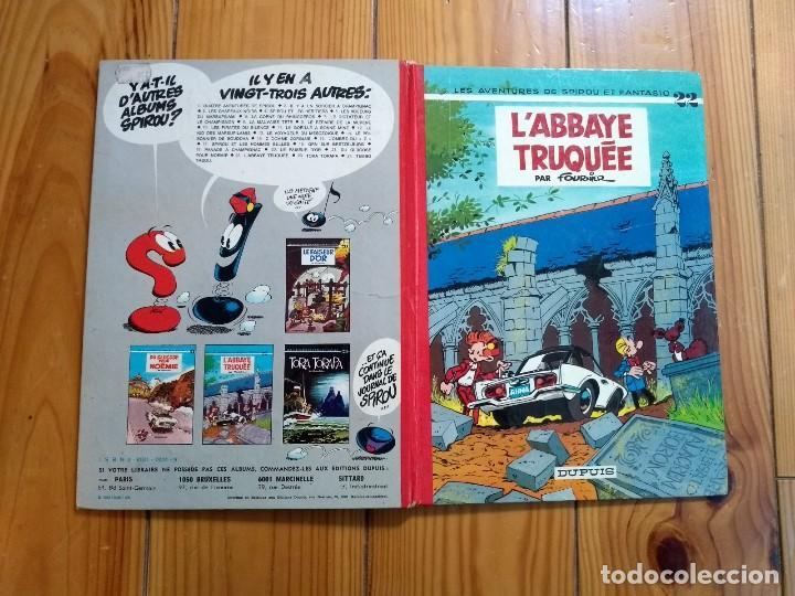 Cómics: Les Aventures de Spirou et Fantasio 22: LAbbaye Truquée - 1974 - Foto 3 - 194603890