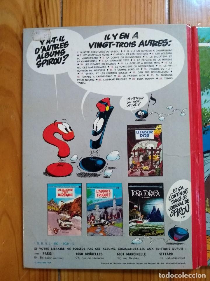 Cómics: Les Aventures de Spirou et Fantasio 22: LAbbaye Truquée - 1974 - Foto 4 - 194603890