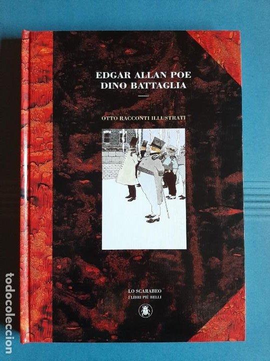 OTTO RACCONTI ILLUSTRATI. DINO BATTAGLIA, EDGAR ALLAN POE. LO SCARABEO 1999. EDICIÓN LIMITADA. (Tebeos y Comics - Comics Lengua Extranjera - Comics Europeos)