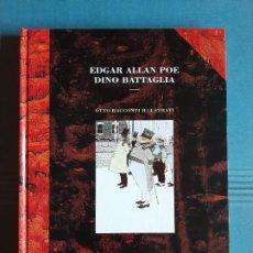 Cómics: OTTO RACCONTI ILLUSTRATI. DINO BATTAGLIA, EDGAR ALLAN POE. LO SCARABEO 1999. EDICIÓN LIMITADA. . Lote 194635426