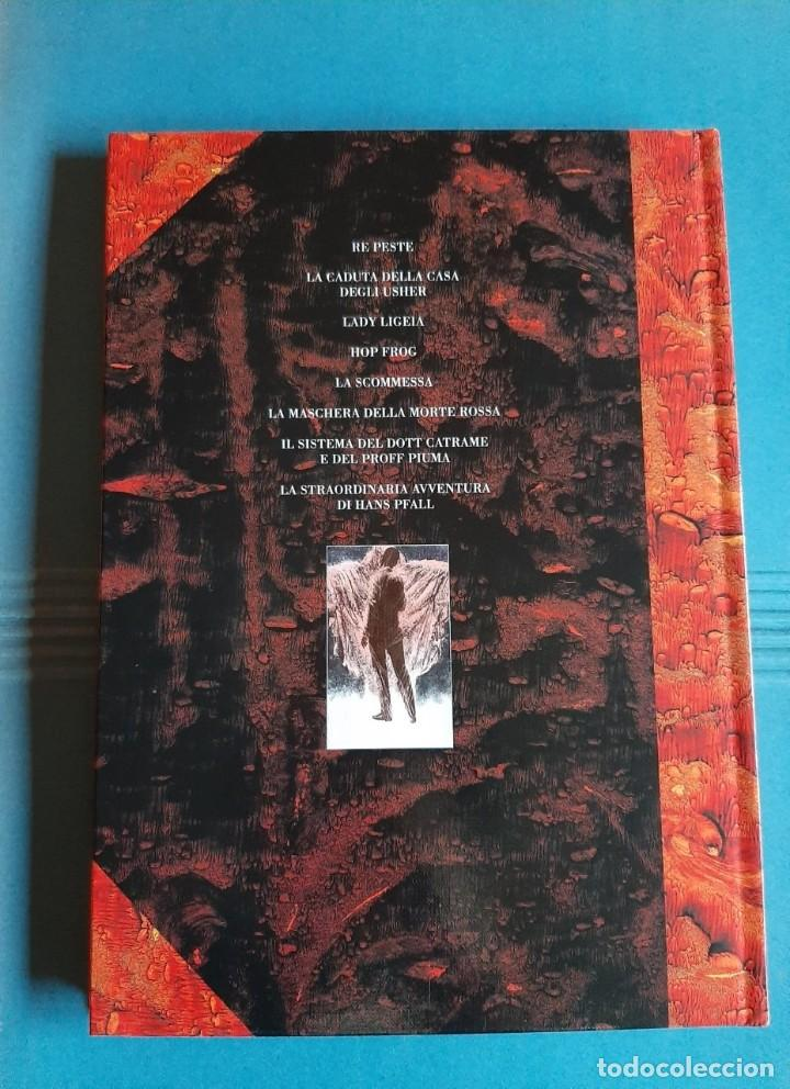 Cómics: Otto racconti illustrati. Dino Battaglia, edgar Allan Poe. Lo scarabeo 1999. Edición limitada. - Foto 2 - 194635426