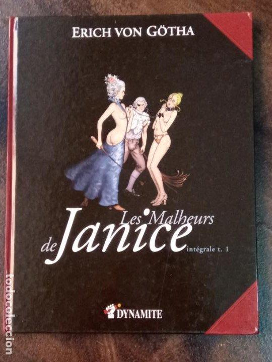 ERICH VON GÖTHA: LES MALHEURS DE JANICE. INTÉGRALE TOME 1 (Tebeos y Comics - Comics Lengua Extranjera - Comics Europeos)