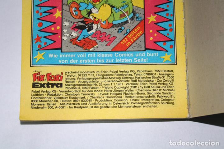 Cómics: CÓMIC en Alemán - FIX UND FOXI Extra núm. 68 - 1981 - Taschenbuch - Foto 4 - 194708142