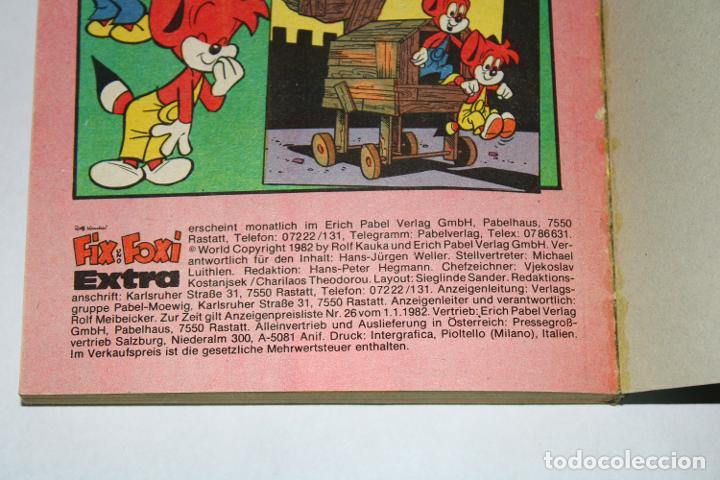 Cómics: CÓMIC en Alemán - FIX UND FOXI Extra núm. 77 - 1981 - Taschenbuch - Foto 5 - 194708415