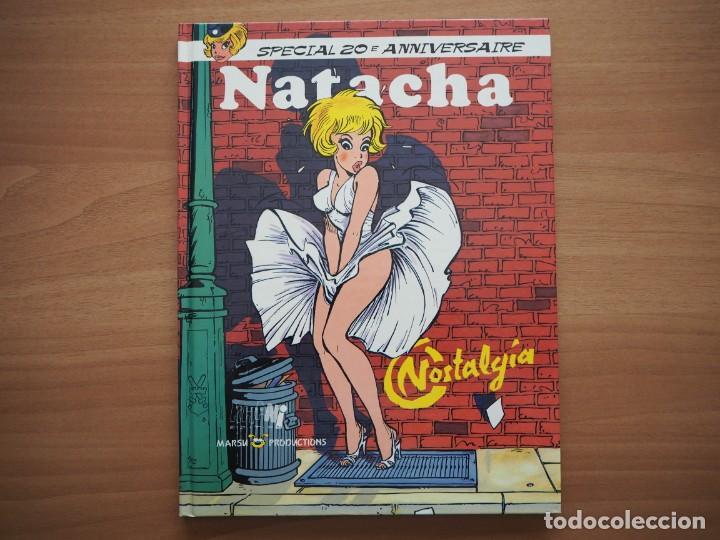 NATACHA. NOSTALGIA. SPECIAL 2OE ANNIVERSAIRE - FRANÇOIS WALTHÉRY - EN FRANCÉS (Tebeos y Comics - Comics Lengua Extranjera - Comics Europeos)
