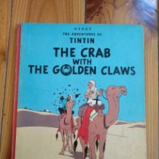 Cómics: TINTIN: THE CRAB WITH THE GOLDEN CLAWS - METHUEN 1964 - EL CANGREJO DE LAS PINZAS DE ORO - UK. Lote 194911305