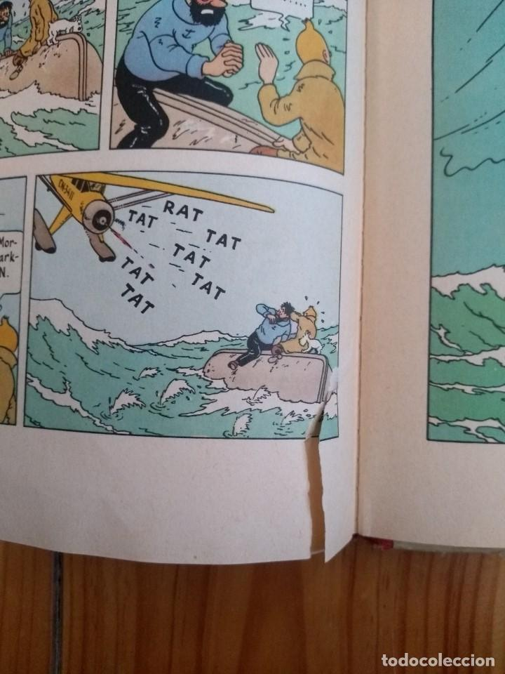 Cómics: Tintin: The Crab with the Golden Claws - Methuen 1964 - El Cangrejo de las Pinzas de Oro - UK - Foto 6 - 194911305