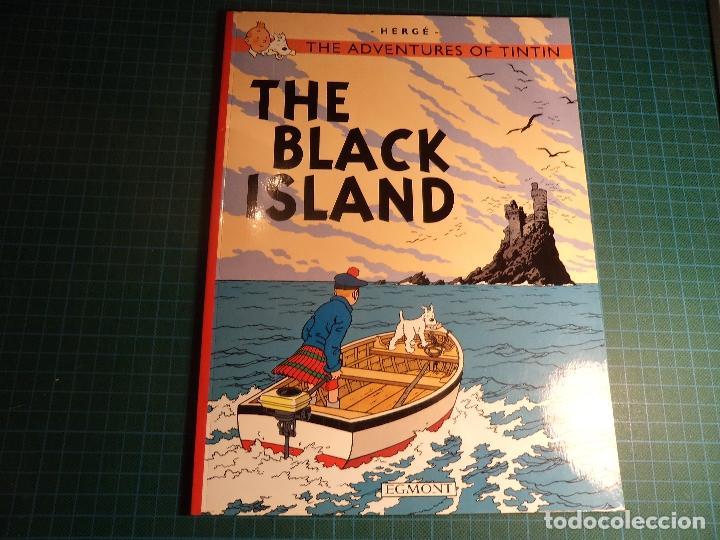 TINTIN. THE BLCK ISLAND. EGMONT. (M-1) (Tebeos y Comics - Comics Lengua Extranjera - Comics Europeos)