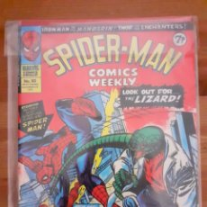 Cómics: SPIDERMAN MARVEL WEEKLY COMICS N 93, 1974 UK. EN INGLÉS. Lote 194964617