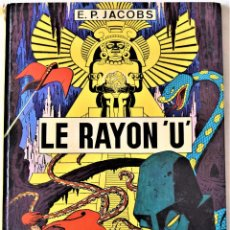 Cómics: COMIC FRANCES - LE RAYON ´U´ - EDITIONS DU LOMBARD - E.P. JACOBS - TAPA DURA . Lote 195002190