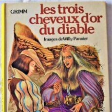 Cómics: COMIC FRANCES - LES TROIS CHEVEUX D´OR DU DIABLE - GRIMM - CASTERMAN -TAPA DURA. Lote 195002572