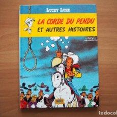 Cómics: LUCKY LUKE. LA CORDE DU PENDU ET AUTRES HISTORIES - MORRIS - EN FRANCÉS. Lote 195053967