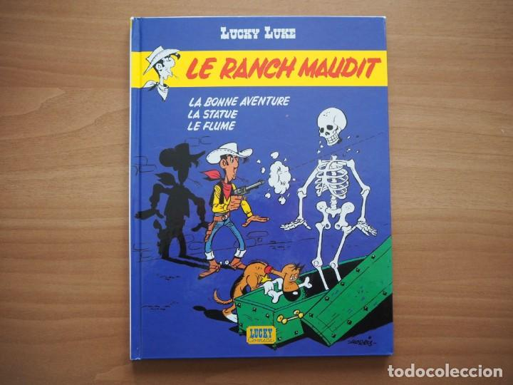 Cómics: LUCKY LUKE. LE RANCH MAUDIT - MORRIS - EN FRANCÉS - Foto 1 - 195054277