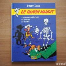 Cómics: LUCKY LUKE. LE RANCH MAUDIT - MORRIS - EN FRANCÉS. Lote 195054277