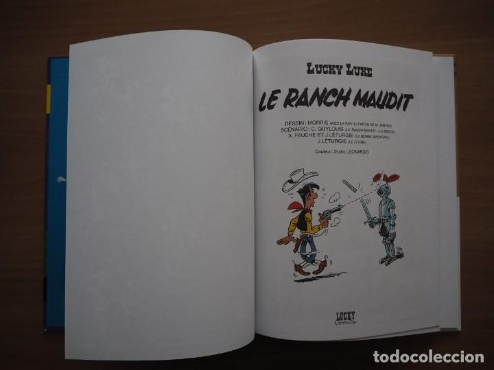 Cómics: LUCKY LUKE. LE RANCH MAUDIT - MORRIS - EN FRANCÉS - Foto 6 - 195054277