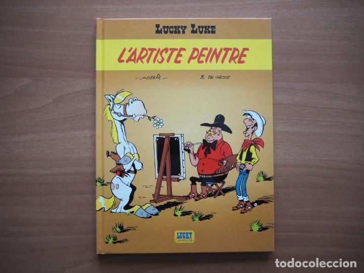 LUCKY LUKE. L'ARTISTE PEINTRE - MORRIS - EN FRANCÉS (Tebeos y Comics - Comics Lengua Extranjera - Comics Europeos)