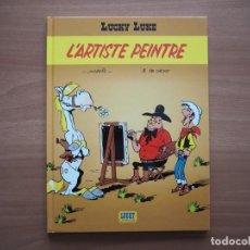 Cómics: LUCKY LUKE. L'ARTISTE PEINTRE - MORRIS - EN FRANCÉS. Lote 195054956
