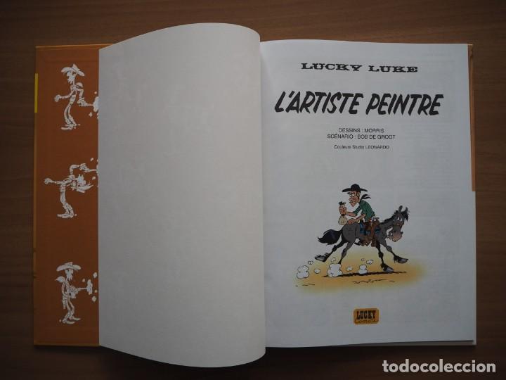 Cómics: LUCKY LUKE. LARTISTE PEINTRE - MORRIS - EN FRANCÉS - Foto 6 - 195054956