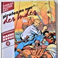 Cómics: COMIC FRANCES - PIRATES EN MER Nº 10 - DES LUDES - TEXTE CHARLIER ET OLIVIER DESSINS GATY - DARGAUD. Lote 195075591