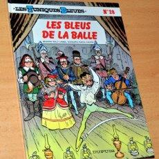 Cómics: CÓMIC EN FRANCÉS: LES TUNIQUES BLEUES - Nº 28 - LES BLEUS DE LA BALLE - EDITIONS DUPUIS - JUNIO 1988. Lote 195131953