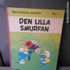 Cómics: DEN LILLA SMURFEN. LOS PITUFOS. Lote 195217733