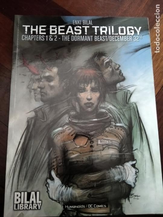 DC HUMANOIDS. THE BEAST TRILOGY TPB. ENKI BILAL (Tebeos y Comics - Comics Lengua Extranjera - Comics Europeos)