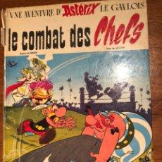 Cómics: UNE AVENTURE D´ASTÉRIX LE GAULOIS. LE COMBAT DES CHEFS. DARGAUD 1966.. Lote 195240603