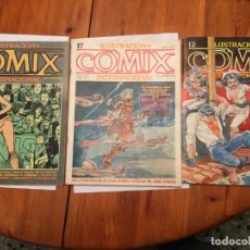 Cómics: COMIC COMIX Nº 12 - 17 -55 LOTE 3 REVT, . Lote 195316806