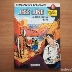 Cómics: JESS LONG Nº 6. GRAND CANYON. RAPT - PIROTON & TILLIEUX - EN FRANCÉS. Lote 195321852