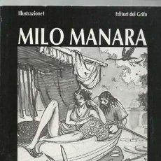 Cómics: L´UCCELLO DEL SOLE, 1990, EDITORI DEL GRIFO. MILO MANARA, BUEN ESTADO. Lote 195323055