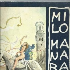 Cómics: MILO MANARA, 1995, EDICIONI DEL GRIFO. Lote 195323307
