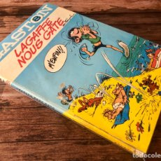 Cómics: GASTÓN LA GAFFE NOUS GATE.. Lote 195354412