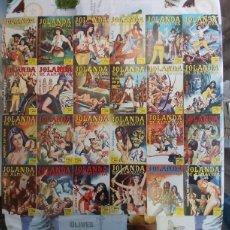 Cómics: JOLANDA DE ALMAVIVA COLLEZIONE COMPLETA FUMETTI ITALIANO. Lote 195362310