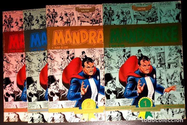 MANDRAKE L'AGE D'OR (ED. DES REMPARTS) 499 PGS DOMINICALES A GRAN TAMAÑO. EN FRANCÉS. 1935-1944. (Tebeos y Comics - Comics Lengua Extranjera - Comics Europeos)
