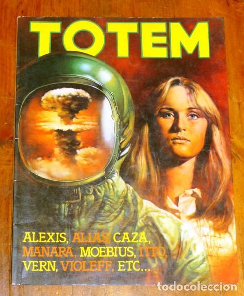 TOTEM Nº 21 ; 5/6/82. - EN ITALIANO (Tebeos y Comics - Comics Lengua Extranjera - Comics Europeos)