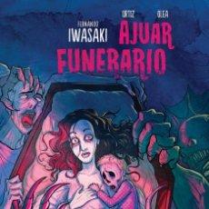 Cómics: AJUAR FUNERARIO DE FERNANDO IWASAKI COMIC. Lote 195421527