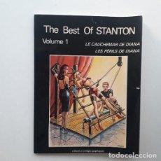 Cómics: THE BEST OF STANTON Nº 1 - LE CAUCHEMAR DE DIANA; LES PÉRILS DE DIANA. Lote 195423668