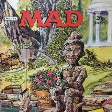 Cómics: MAD MAGAZINE UK EDITION, NÚMERO 166, FEBRERO AÑO 1976, REVISTA MAD EDICIÓN BRITÁNICA, #166. Lote 195466323