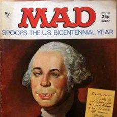 Cómics: MAD MAGAZINE UK EDITION, NÚMERO 172, AGOSTO AÑO 1976, REVISTA MAD EDICIÓN BRITÁNICA, #172. Lote 195467178
