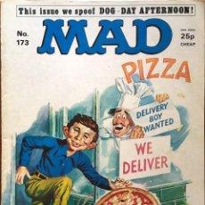 Cómics: MAD MAGAZINE UK EDITION, NÚMERO 173, SEPTIEMBRE AÑO 1976, REVISTA MAD EDICIÓN BRITÁNICA, #173. Lote 195468676