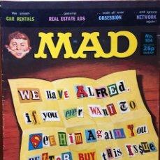 Cómics: MAD MAGAZINE UK EDITION, NÚMERO 184, AGOSTO AÑO 1977, REVISTA MAD EDICIÓN BRITÁNICA, #184. Lote 195476832
